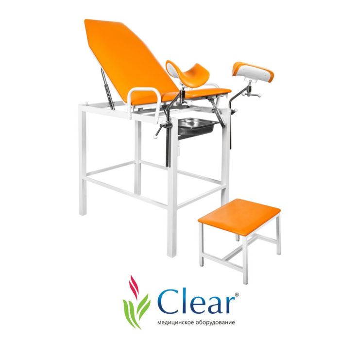 Кресло гинекологическое «Клер» КГФВ 01 с передвижной ступенькой