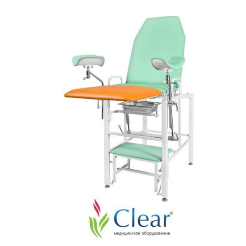 Кресло гинекологическое «Клер» КГФВ 02 с встроенной ступенькой