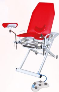 Кресло гинекологическое «Клер» модель КГЭМ 01 Е (3 электропривода)