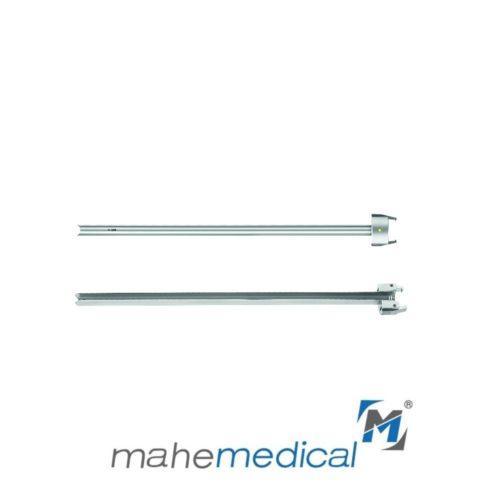 Тубус для уретротома направляющий с боковой прорезью для установки баллонного катетера