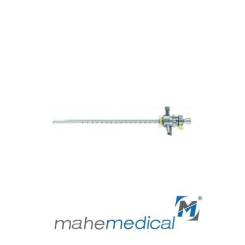Тубус для цистоуретроскопии с центральным клапаном